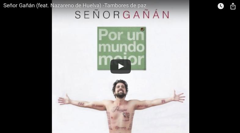 """La Soga de Judas canta con Señor Gañán en """"Tambores de Paz"""" su canción con el Nazareno de Huelva"""