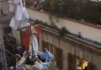 El Resucitado se reinventa para adaptarse a las marchas de Virgen de Los Reyes